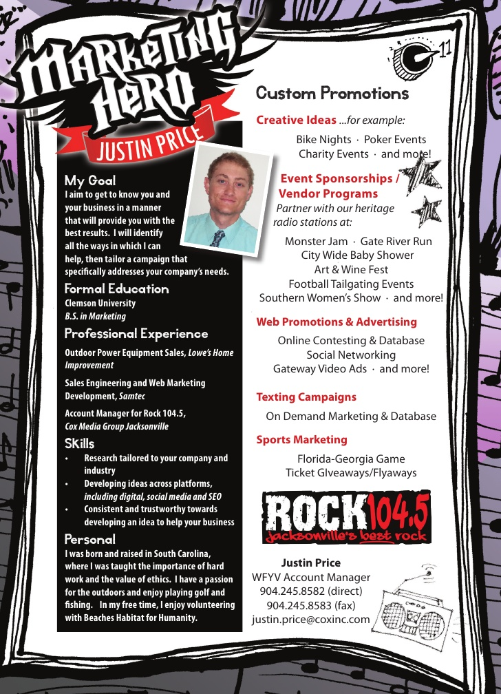 justin personal marketing resume justinpersonal best examples bullets sports achievements Resume Personal Marketing Resume