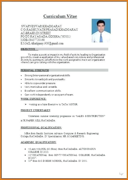 large size of sample format in template curriculum vitae free resume word cv words Resume Collection Resume Format
