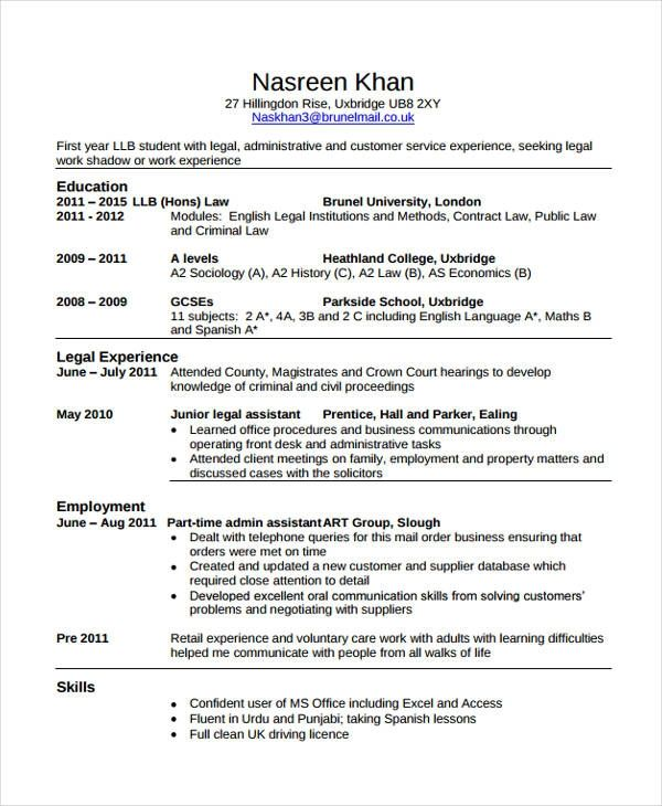 law cv template majormagdalene project student resume job examples school dog daycare Resume Law School Resume Template Download