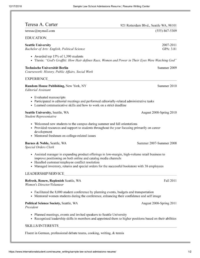 law school resume templates prepping your for of university at template recent graduate Resume Law School Resume Template Download