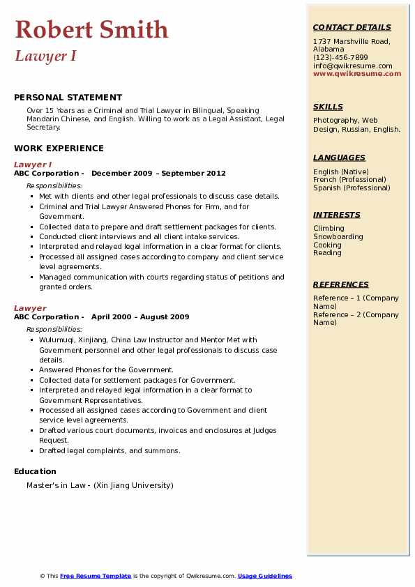lawyer resume samples qwikresume family law attorney pdf fast food crew member job Resume Family Law Attorney Resume