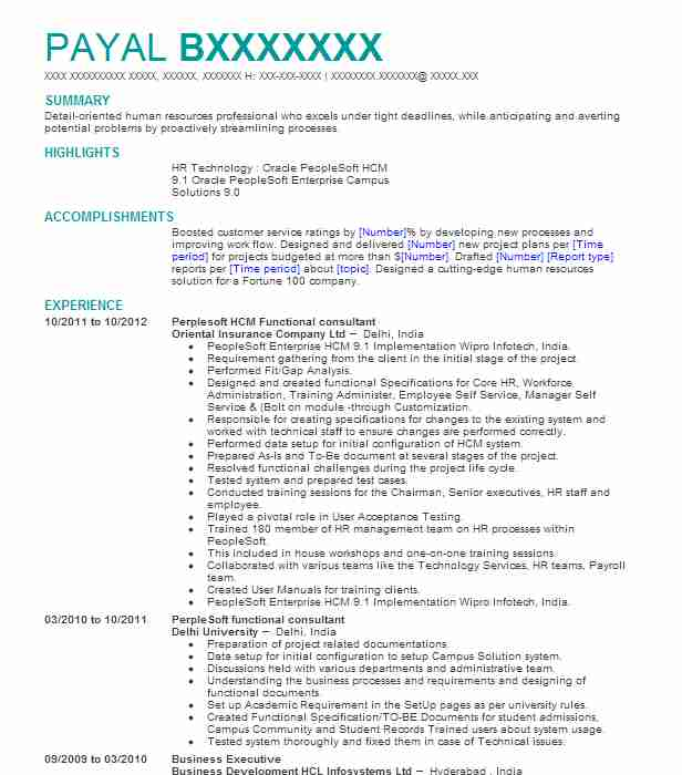 lead sap hcm functional consultant resume example independent katy success factors Resume Sap Success Factors Resume