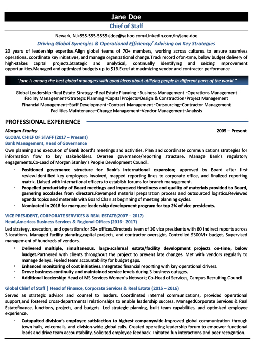 level resume chief of staff cos icareersolutions job page1 security engineer impressive Resume Chief Of Staff Job Resume