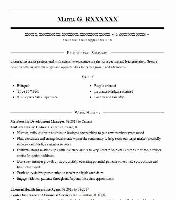 licensed health insurance agent resume example optum tolleson tongue and quill template Resume Tongue And Quill Resume Template