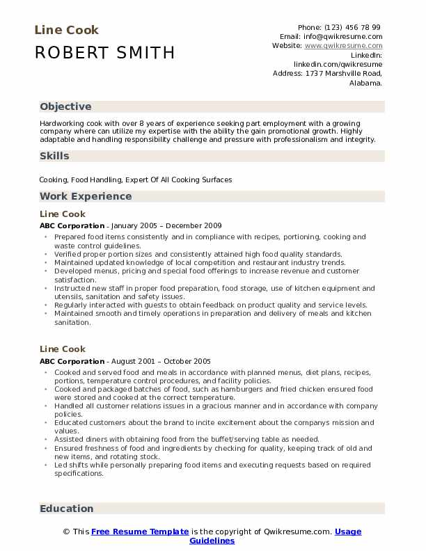 line resume samples qwikresume job description for pdf umn cse scrum master linkedin Resume Line Cook Job Description For Resume