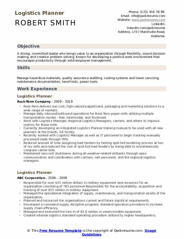 logistics planner resume samples qwikresume examples pdf corporate security manager Resume Logistics Resume Examples