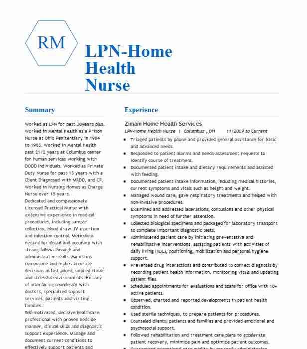 lpn home health resume example maxim healthcare saint louis job description for Resume Home Health Lpn Job Description For Resume