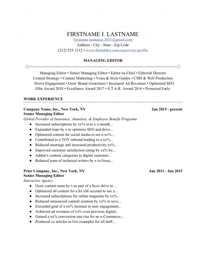 magic resume words that land you the job ladders guide 3rd edition managing synonym image Resume Managing Synonym Resume