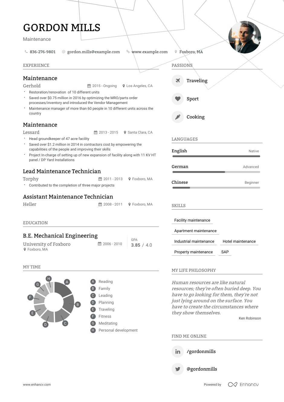 maintenance resume examples do and don ts for enhancv apartment accounts receivable Resume Apartment Maintenance Resume