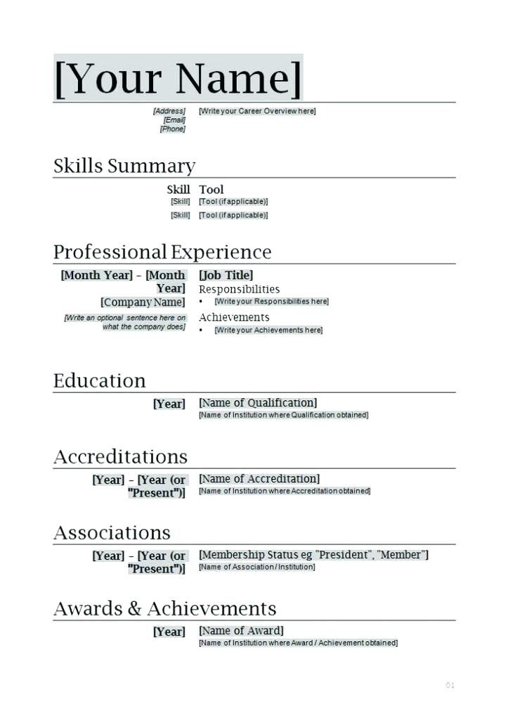 make it simple resume basic templates easy to use examples writing standard format for Resume Writing A Basic Resume
