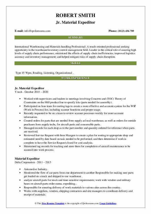 material expeditor resume samples qwikresume pdf electrical helper example csulb help Resume Material Expeditor Resume