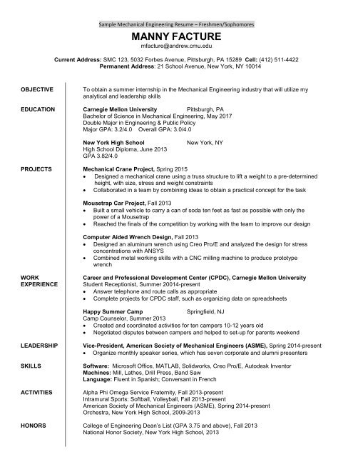 mechanical engineer first job resume template for fresher after outline google docs and Resume Resume Template After First Job