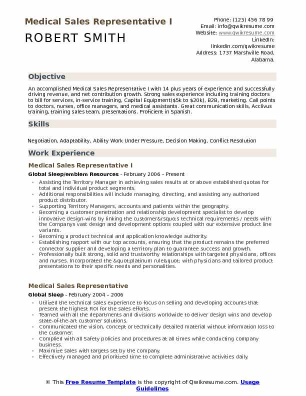 medical representative resume samples qwikresume rep pdf career summary for accountant Resume Medical Sales Rep Resume