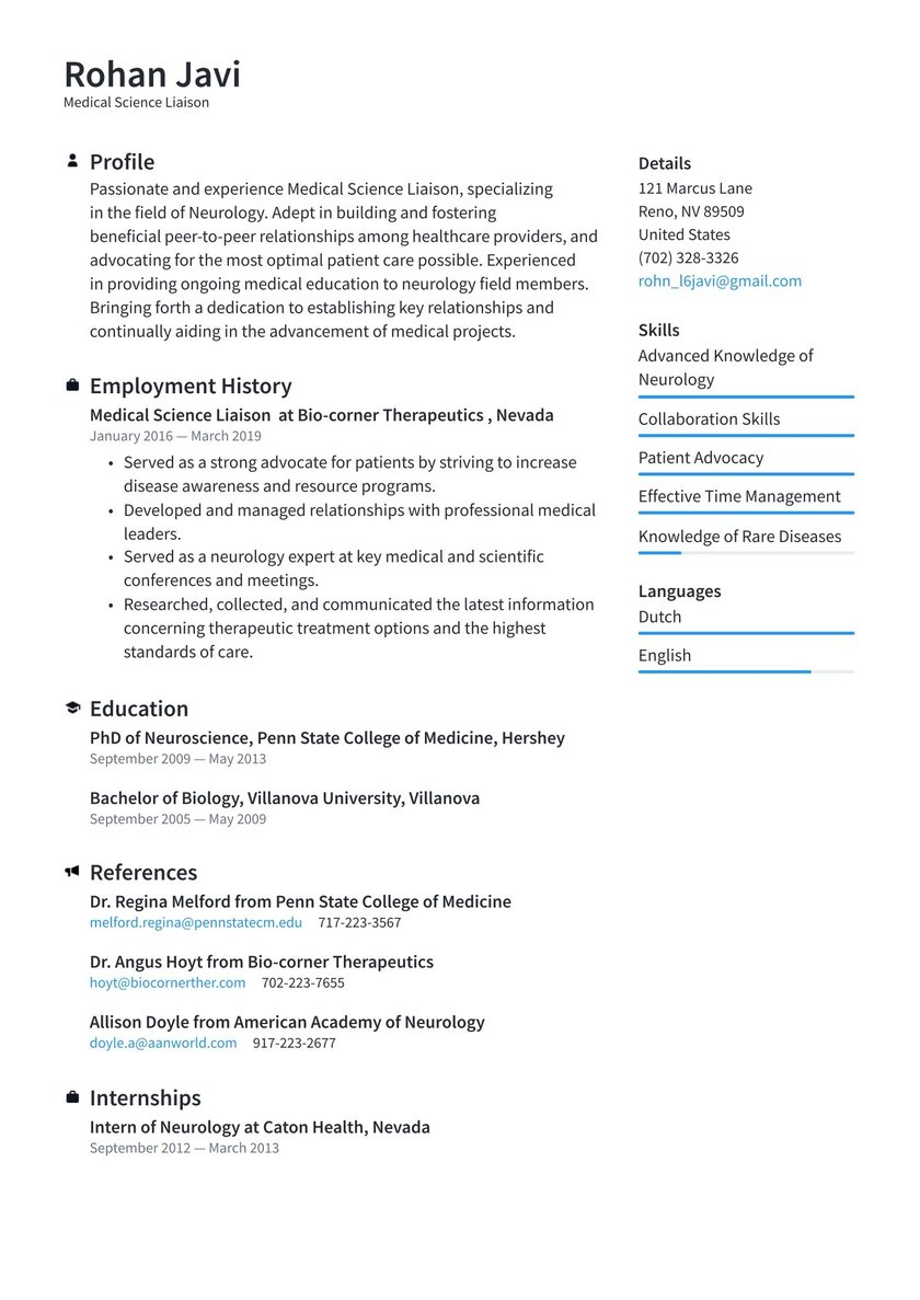 medical science liaison resume examples writing tips free sample technical writer reviews Resume Medical Liaison Resume Sample