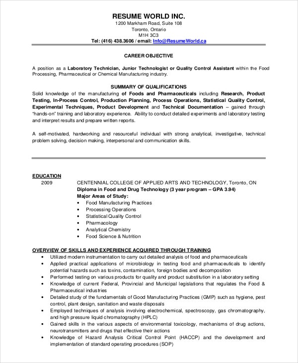 microbiologist resume template free word pdf document downloads premium templates format Resume Resume Format For Msc Statistics Freshers