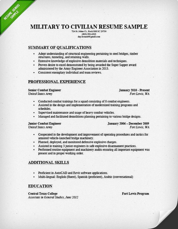 military to civilian resume examples template for veterans retired templates sample Resume Retiree Resume Examples