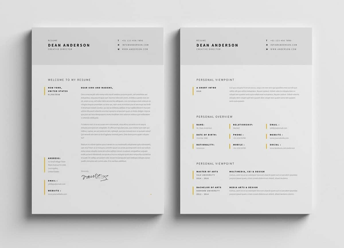 modern resume template format examples for contemporary templates customer skills calibri Resume Contemporary Modern Resume Template