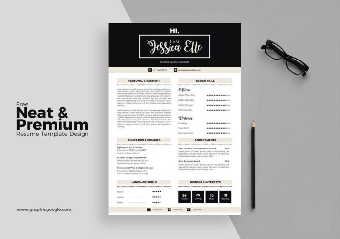 modern resume template format examples for contemporary templates dunkin donuts crew Resume Contemporary Modern Resume Template