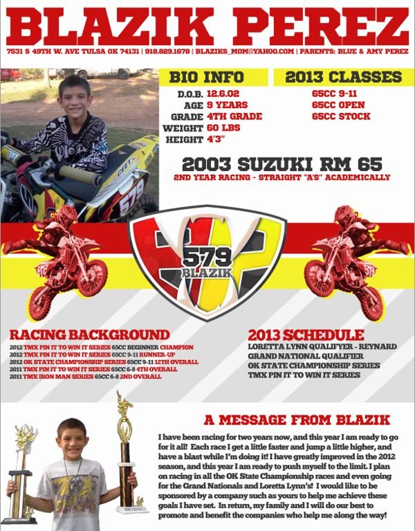 motocross sponsorship resume template sample for collections microsoft functional child Resume Motocross Resume Sample For Sponsorship