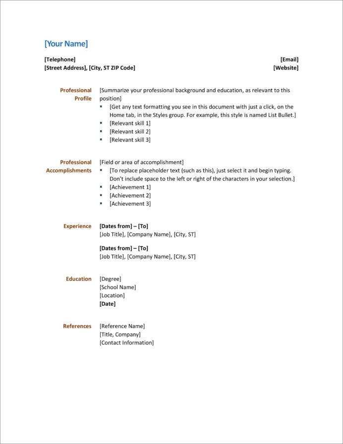 ms word resume templates addictionary microsoft office incredible ideas retail associate Resume Microsoft Office Resume Templates 2020