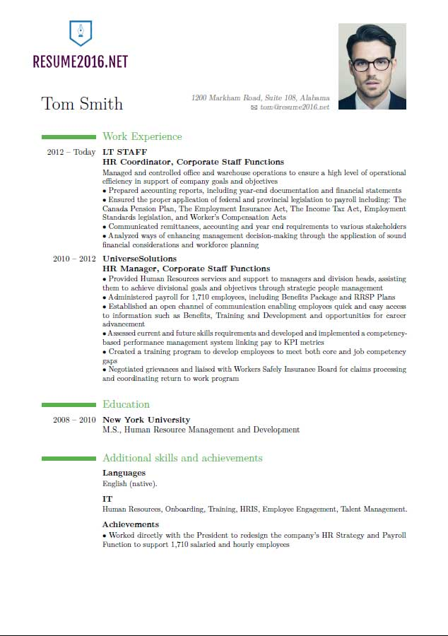 new resume format things in your must have hr manager for traffic controller writing lab Resume Things A Resume Must Have