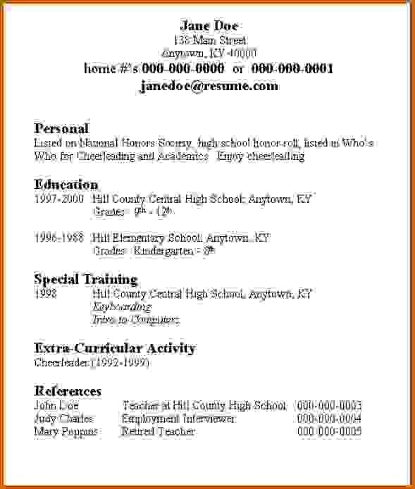 of the best ideas for to make college resume check more at http sktrnhorn student Resume The Best Way To Make A Resume