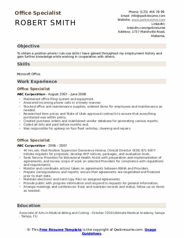 office specialist resume samples qwikresume microsoft skills pdf cal fire examples holes Resume Microsoft Office Skills Resume