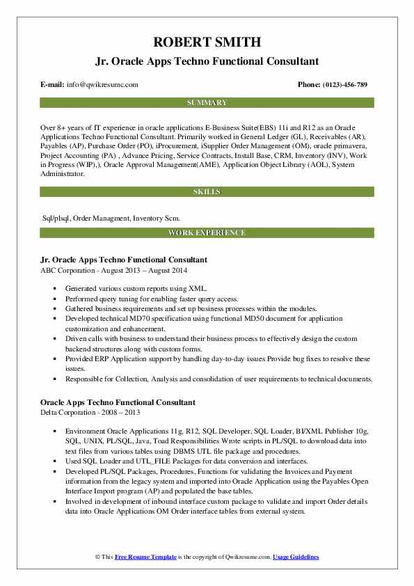 oracle apps techno functional consultant resume samples qwikresume hrms pdf and linkedin Resume Oracle Hrms Techno Functional Consultant Resume