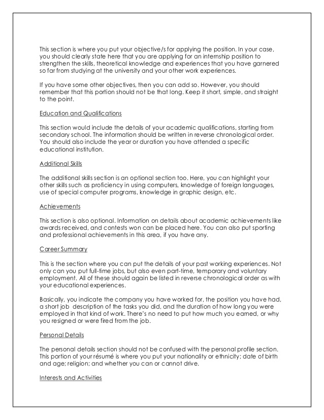 order do you put education on resume section guide portion of to write impressive and Resume Education Portion Of Resume