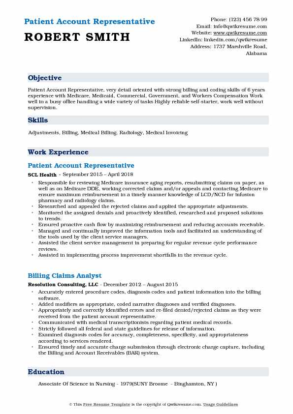 patient account representative resume samples qwikresume pdf work for high school student Resume Account Representative Resume