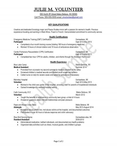peace corps uva career center public health resume template sample issues activities and Resume Public Health Resume Template