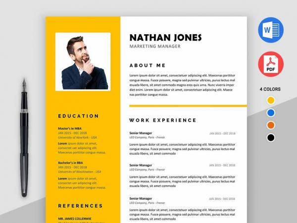 perfect free resume cv templates word format maxresumes mba template assure 600x450 for Resume Free Mba Resume Template