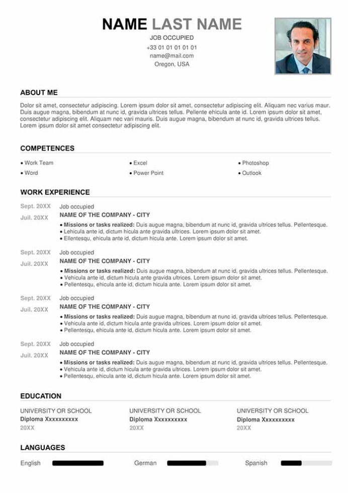 perfect resume example for free cv word about examples create and print problem solving Resume About Me Resume Examples