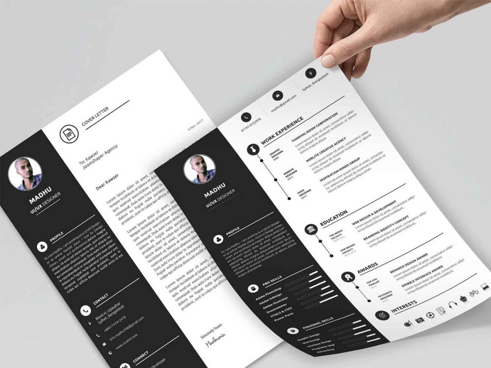personal resume template free resumekraft 1000x750 maths teacher word format delivery Resume Personal Resume Template Free