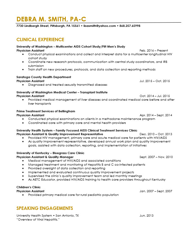 physician assistant resume revision cv cover letter editing the life writer sample pa Resume Physician Resume Writer