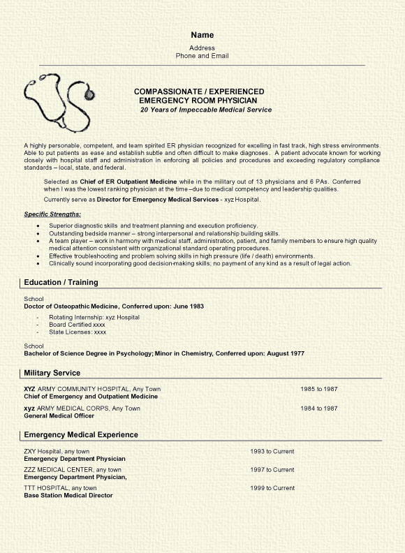 physician resume example writer sample doctor6a on air talent performing arts applicant Resume Physician Resume Writer
