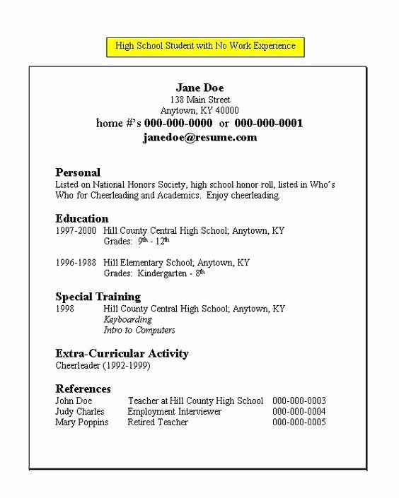 pin on example cover letter template for resume high school student with work experience Resume High School Student Resume With Work Experience