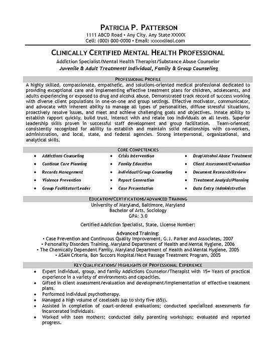 pin on work related mental health resume template the music examples of special skills Resume Mental Health Resume Template
