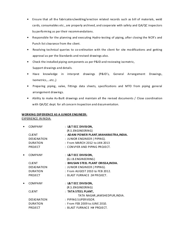piping supervisor resume word format writing services newcastle nsw skill set estimated Resume Piping Supervisor Resume Word Format