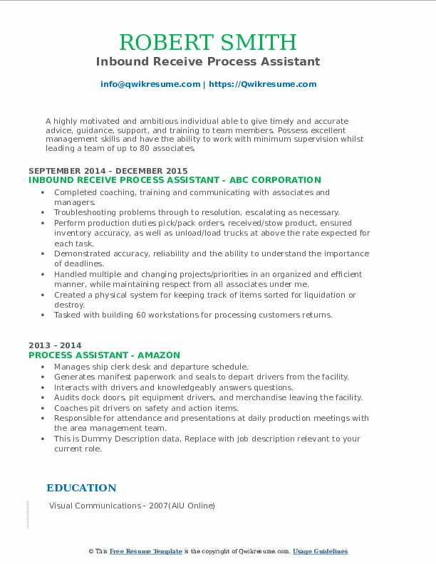 process assistant resume samples qwikresume pdf simple examples for high school students Resume Process Assistant Resume