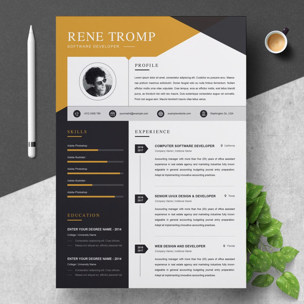 professional and creative resume templates for every field in resumeinventor eye catching Resume Eye Catching Resume 2020