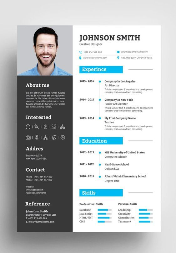 professional cv resume design ideas in template graphic best writing oshawa first time Resume Best Resume Design 2020