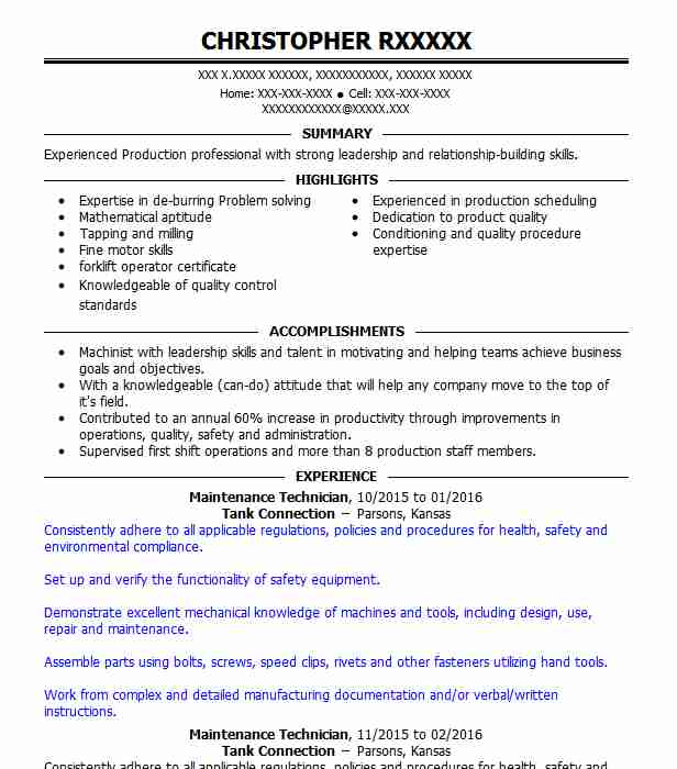 professional resume examples livecareer sample for apartment maintenance technician Resume Sample Resume For Apartment Maintenance Technician