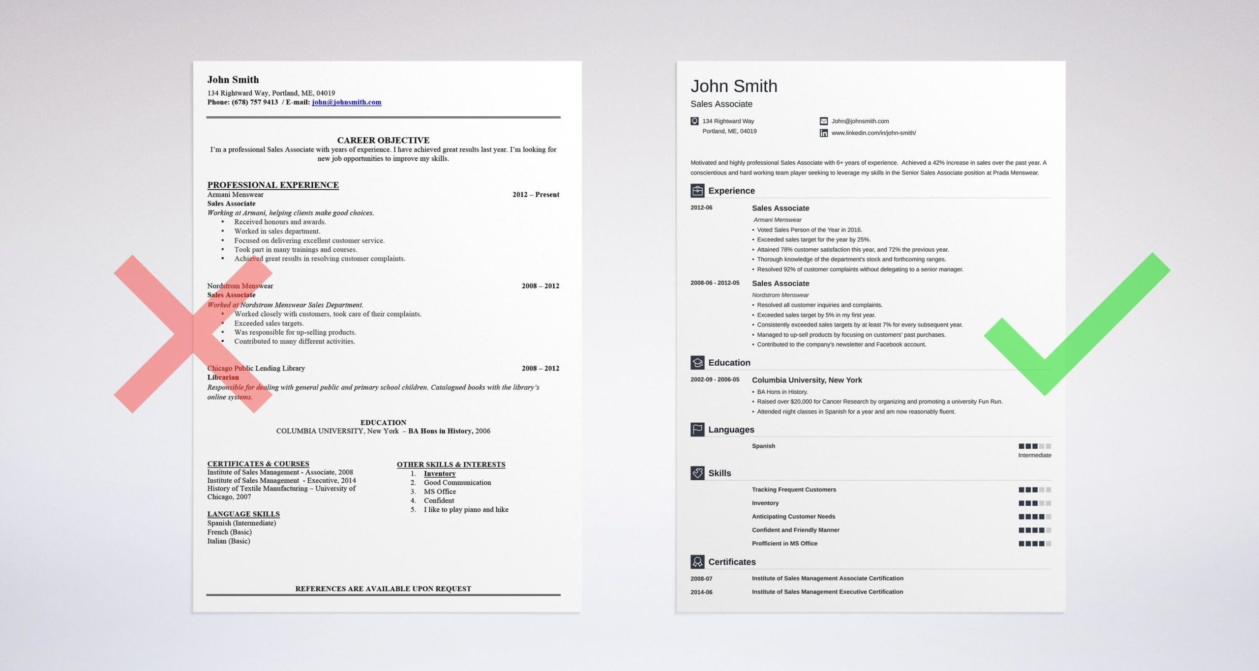 professional resume summary examples statements make your look on template light school Resume Make Your Resume Look Professional