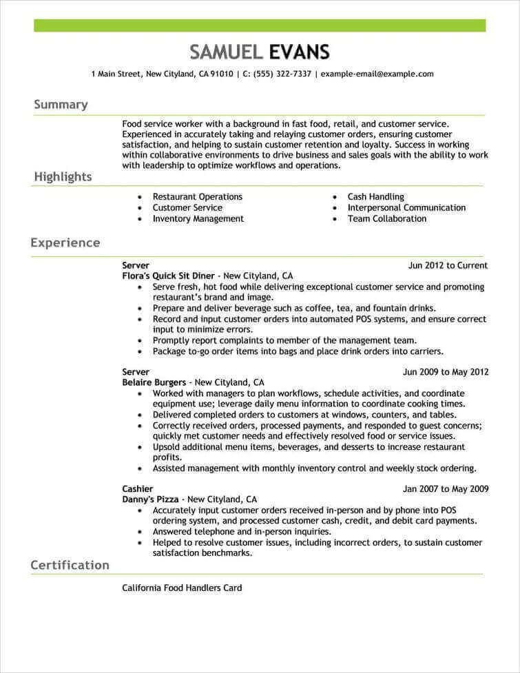 professional senior manager executive resume samples livecareer examples for jobs with Resume Resume Examples For Jobs With Experience