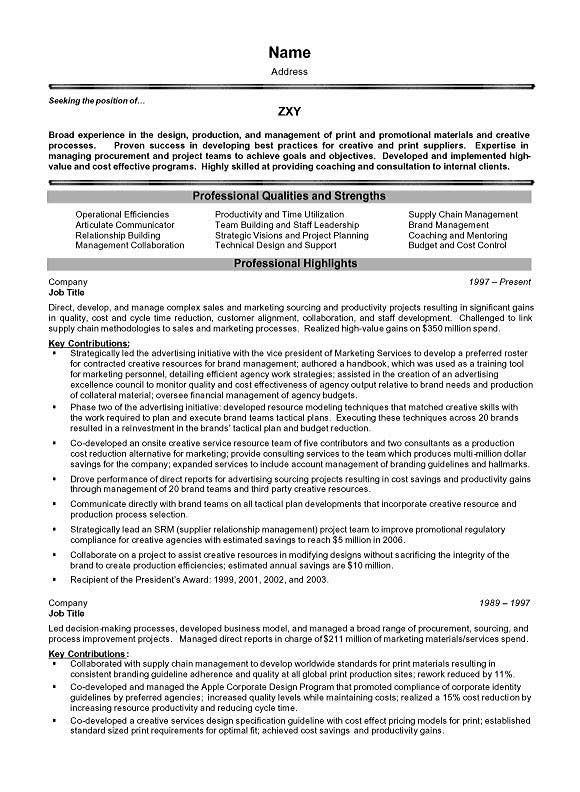 project management executive manager resume examples summary job application cover letter Resume Resume Summary Examples Project Manager