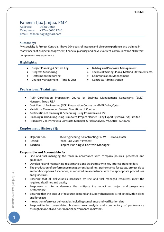 project manager cv writing services resume examples engineering control pmp format for Resume Engineering Project Manager Resume Examples