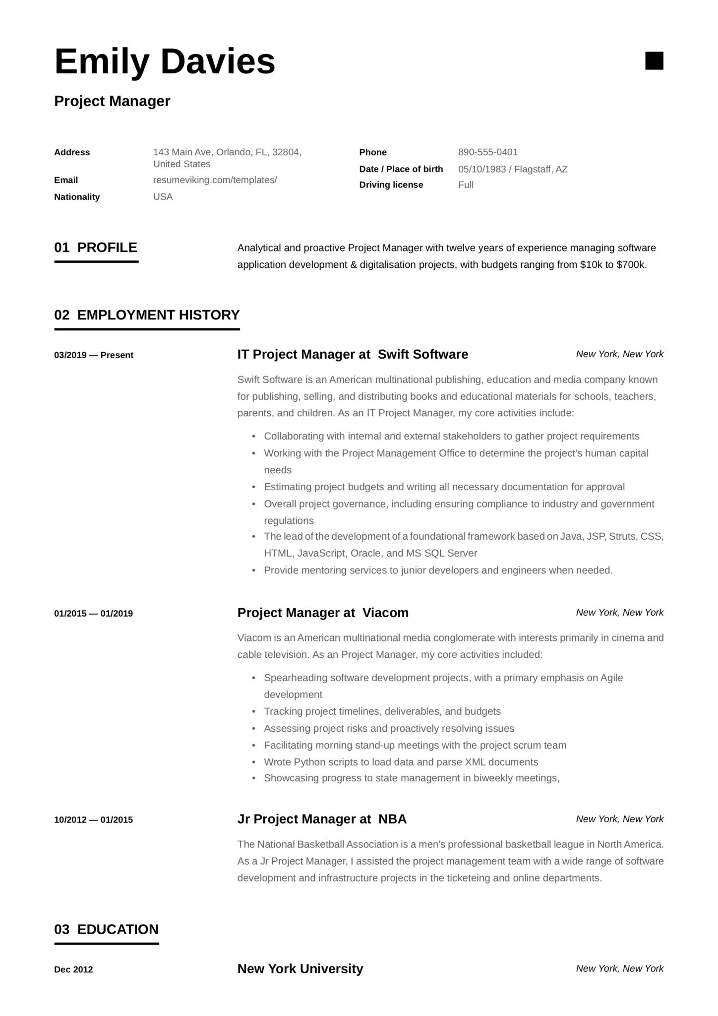 project manager resume examples full guide pdf word summary scaled maintenance man Resume Project Manager Resume Summary