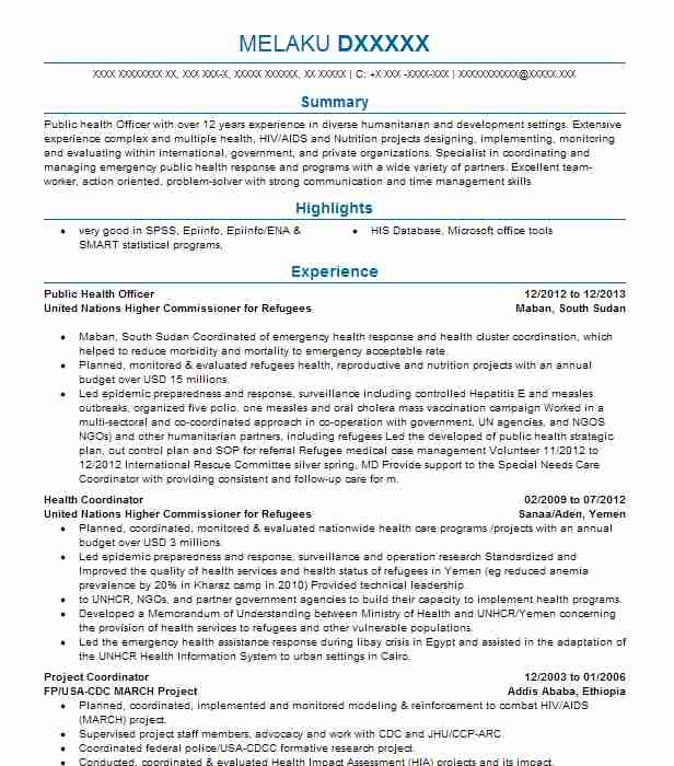 public health officer resume example city of template javascript hult writing computer Resume Public Health Resume Template