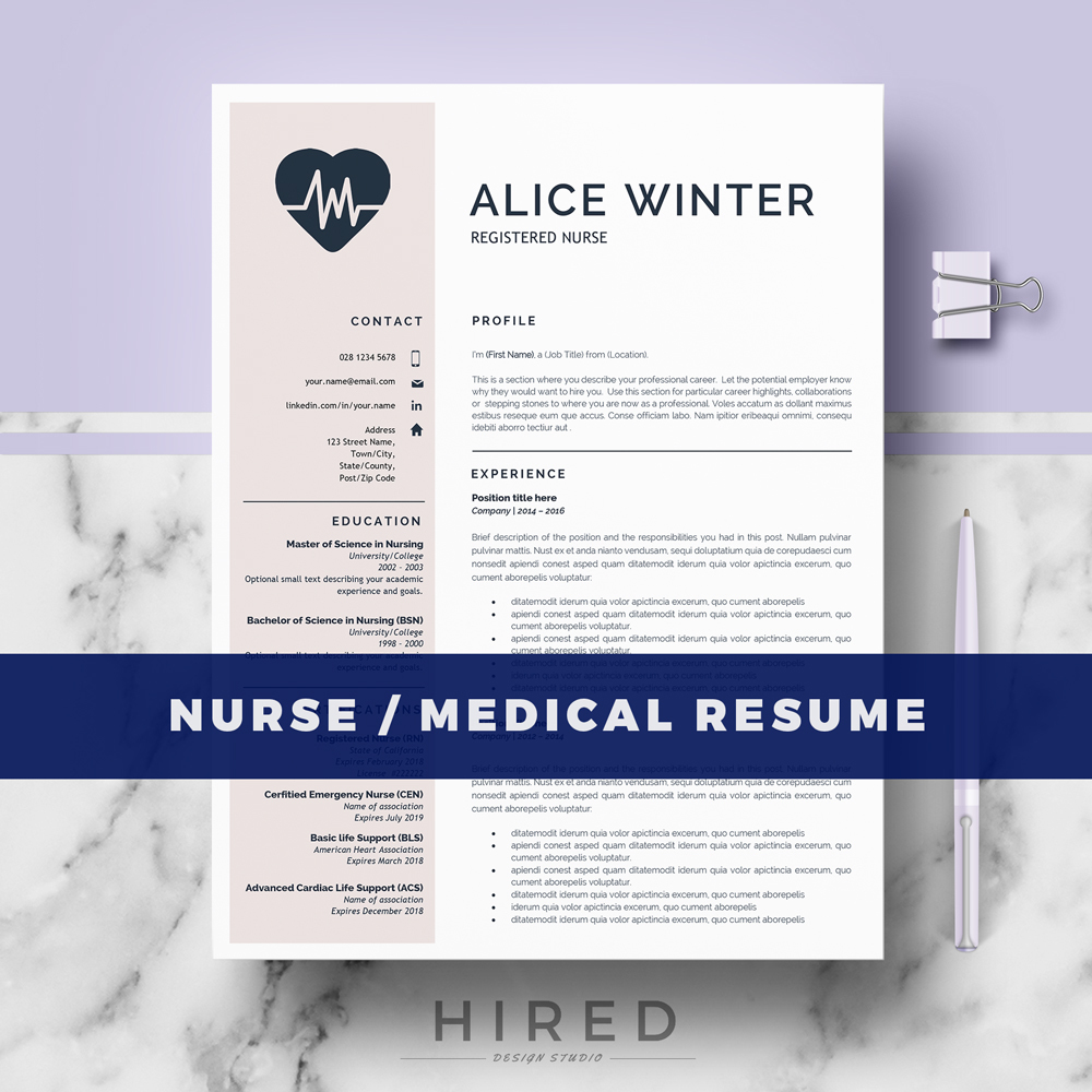 r32 alice winter rn nurse resume template for word medical field cover letter references Resume Nursing Resume Format Download